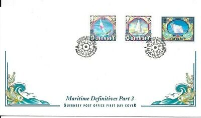 £1 • Buy Guernsey 2000 Maritime Definitives FDC (C)