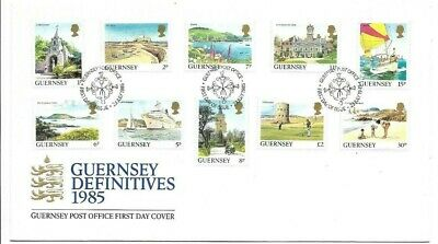 £1 • Buy Guernsey 1985 Definitive Issues FDC (A)
