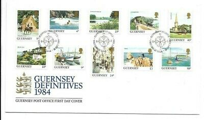 £1 • Buy Guernsey 1984 Definitive Issues FDC (B)