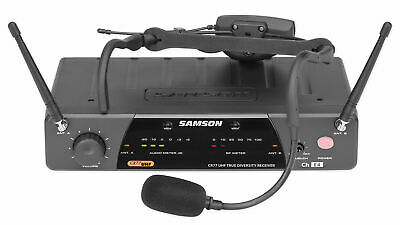 £165.51 • Buy Samson AirLine 77 Wireless AH7-Qe Fitness Spin Headset Microphone Mic System-K3