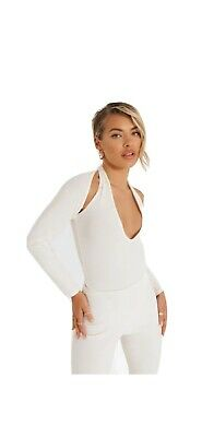 £1.99 • Buy Boohoo Plunge Cut Out Body Suit Size Uk 8