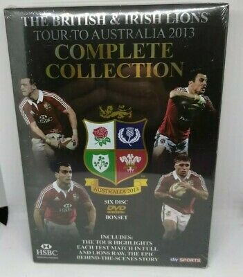 £8 • Buy The British And Irish Lions Tour Of Australia 2013 Complete Collection DVD New