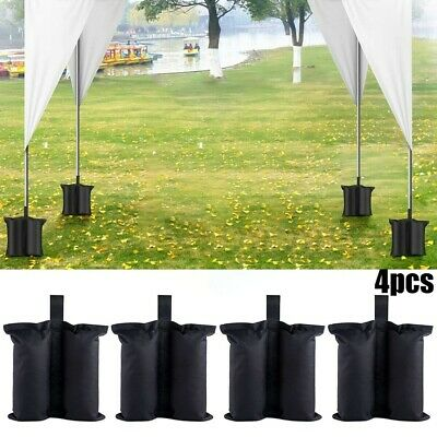 AU32.51 • Buy 4*Garden Gazebo Foot Leg Feet Weights Sand Bag For Marquee Party Tent Sets New