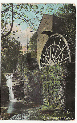 £4.99 • Buy 1907 Postcard Ramsdale Mill North Yorkshire By R Warters Post Office Thorpe