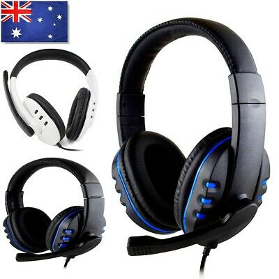 AU21.80 • Buy Gaming Headset USB Wired LED Headphones Stereo With Mic For PC Desktop & Laptop