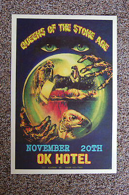 $4 • Buy Queens Of The Stone Concert Tour Poster 1997 OK Hotel Seattle