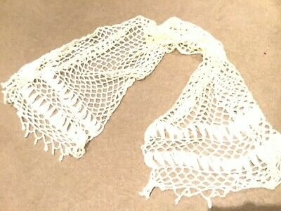 AU6.44 • Buy Shawl Off White Unwanted Gift Great For A Xmas Gift Or To Keep Warm