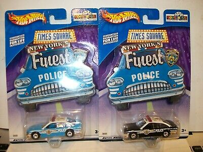 £13.04 • Buy 2002 Hot Wheels Times Square Toys R Us New York's Finest Police Cars (Lot Of 2)
