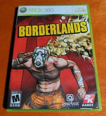 AU14.69 • Buy Borderlands Microsoft Xbox 360 2K Games Take-Two Interactive Gearbox Software