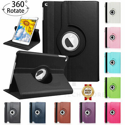 AU9.95 • Buy Smart 360 Rotate Leather Case Cover For IPad 9 8 7 6 5 Gen Air 3 2 1 Pro 10.5 AU