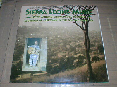 £42 • Buy L.P. Sierra Leone Music, West African 78 Rpm Gramophone Records POST FREE