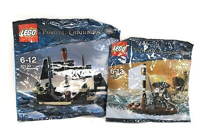 £9.99 • Buy LEGO DISNEY PIRATES OF THE CARIBBEAN SETS 30131 And 30130 Black Pearl NEW - S36