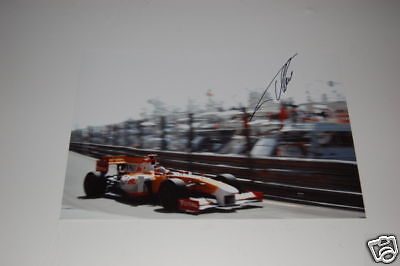 Renault F1 Photo Signed By Fernando Alonso. • 42.50£