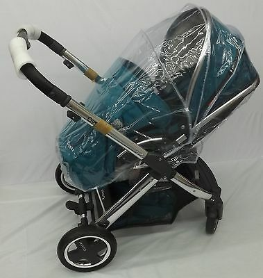 New Rain Cover Fit Hauck Icoo Pluto Pushchair Stroller • 12.99£