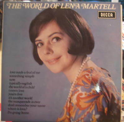 LENA MARTELL The World Of DECCA • 8£