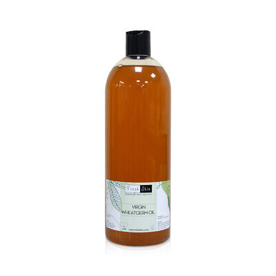 £11.95 • Buy 1 Litre Wheatgerm Virgin Oil | Cold Pressed 100% Pure Unrefined Carrier Oil