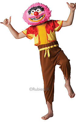 Fancy Dress Costume ~ Disney Muppets Animal Large Age 7-8 • 16.99£