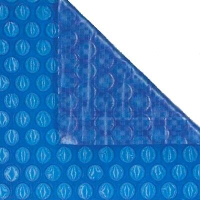24ft X 12ft Oval Blue 400 Micron Swimming Pool Cover Solar Heat Retention • 166.44£