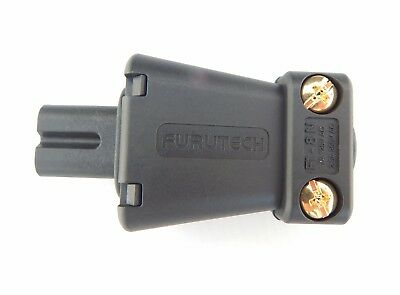 £48 • Buy Furutech FI-8ng Figure Of 8 Connector C7 Gold Plated 10/10 Quality & Performance
