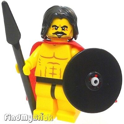 £5.81 • Buy C434 Lego Spartan / God Warrior Minifigure W/ Muscles & Ribs Outline Pattern NEW