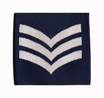 £2.88 • Buy Pair Of Official Sergeant Royal Air Force Rank Slides  RAF ( NEW SGT