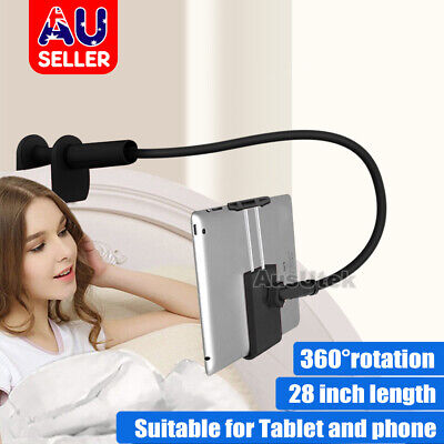 AU13.95 • Buy 360°Rotating Tablet Stand Holder Lazy Bed Desk Mount For IPad Air IPhone Samsung