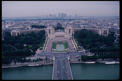 223007 Place Du Trocadero And Parisian Skyline From The Eiffel Tower A4 Photo Pr • 7.99£