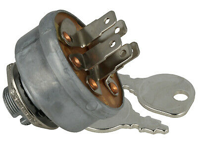 Ignition Switch With Keys Fits MTD 725-0267A - 5 Spade Terminal S,L,G,B,M • 10.98£