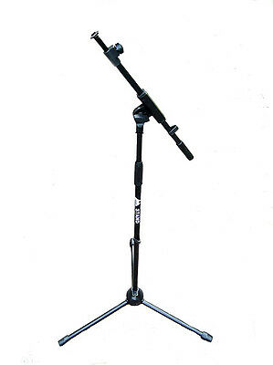 ISK Heavy Duty Telescopic Boom Microphone Mic Floor Stand + Telescopic Boom Arm • 27.99£