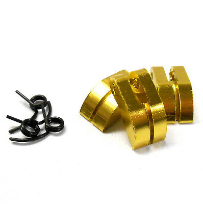 Nitro Engine 3 Shoe Aluminium Clutch With Spring Yellow .21 To .28 + 1/8 Scale • 3.61£