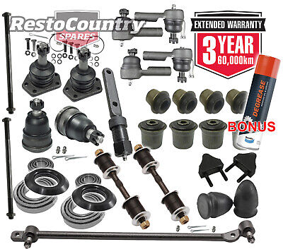 AU539 • Buy KIT 3. Holden Front End Rebuild Kit HQ HJ HX NON RTS Drag Ball Tie Rod Bush