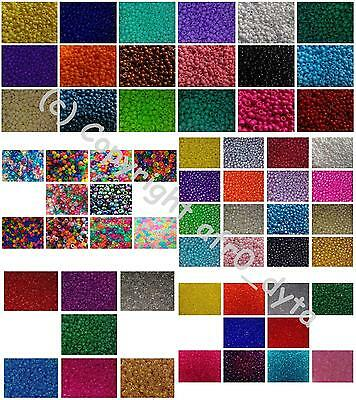 🎀 3 FOR 2 🎀 100 Pony Beads Different Colours 9x6mm Barrel Shape • 1.83£