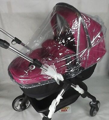 Travel System Raincover To Fit Graco Mosic Zipped Rain Cover • 15.99£