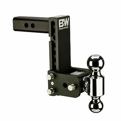 $ CDN326.71 • Buy B&W Hitches TS10040B Tow & Stow 7-7.5  Adjustable Dual Ball Mount Receiver Hitch
