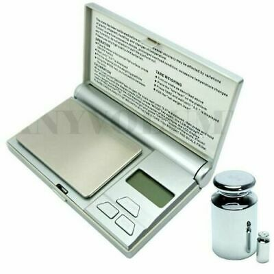 $12.99 • Buy 100g X 0.01g Digital Pocket Scale .01g Jewelry Scale With Calibration Weights