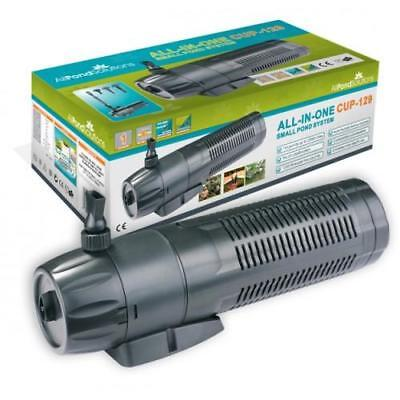 £53.99 • Buy Pond Filter + UV Steriliser Light And Fountain Pump - APS All In One System