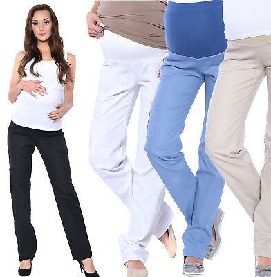 £16.90 • Buy Maternity Pregnancy Comfortable Trousers Cargos Pants Over Bump 8 10 12 14 16 18