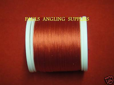 100 Yds  Fishing Rod Whipping Thread Scarlet RED • 9.98£