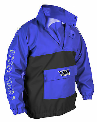 Vass-Tex 350 Heavy Duty Team Vass Smock BLUE - 100% Waterproof & Windproof • 76.95£
