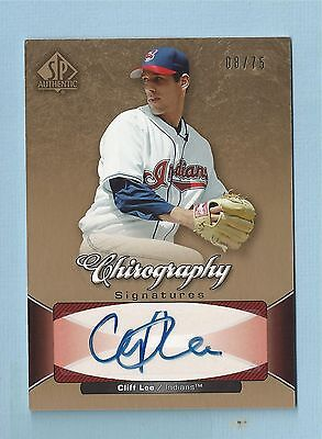 $20 • Buy Cliff Lee 2006 Sp Authentic Chirography Autograph Auto /75