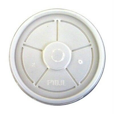 100 X P12JSL  Lids To Fit 12oz Dart Polystyrene Cups 12LX12 Vented Lids • 8.09£