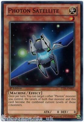 £1.45 • Buy ZTIN-EN007 Photon Satellite Super Rare 1st Edition Mint YuGiOh Card