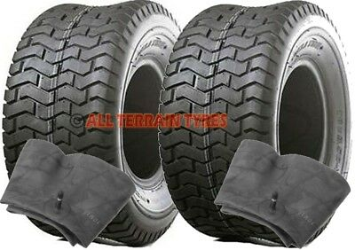 18x9.50-8 Lawn Mower Garden Tractor Turf PAIR TYRES & TUBES Free Post 18x950-8  • 79.50£