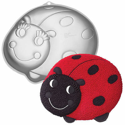Lady Bug Cake Pan From Wilton 3316 NEW • 10.01£