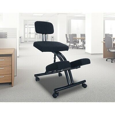 AU137.95 • Buy Ergonomic Office Kneeling Chair Knee Yoga Posture Sit Back Pain Stretch Exercise