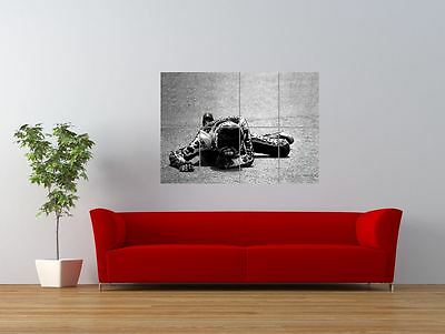 Barry Sheene Motorbike Motor Sport Champion Giant Wall Art Poster Print • 12.99£