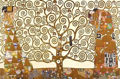 $ CDN13.77 • Buy TREE OF LIFW Gustav Klimt Poster, Size 24x36