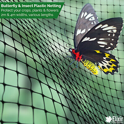 £4.99 • Buy Butterfly / Insect Fruit Cage Net Vegetable Plant Protection Cover Plastic 2m 4m