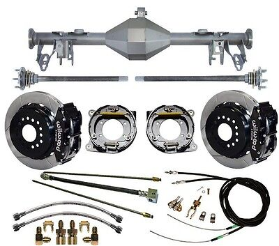 $3299.99 • Buy Currie 05-13 Mustang Rear End & Wilwood 13  Disc Brakes,lines,e- Cables,axles,++