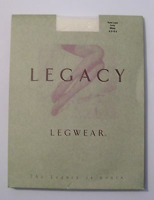 New Legacy Legwear Rose Lace Color Ivory Pantyhose Womens Size Missy • 11.09£